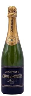 Charles de Monrency Champagne Brut Reserve 750ml - Case of...